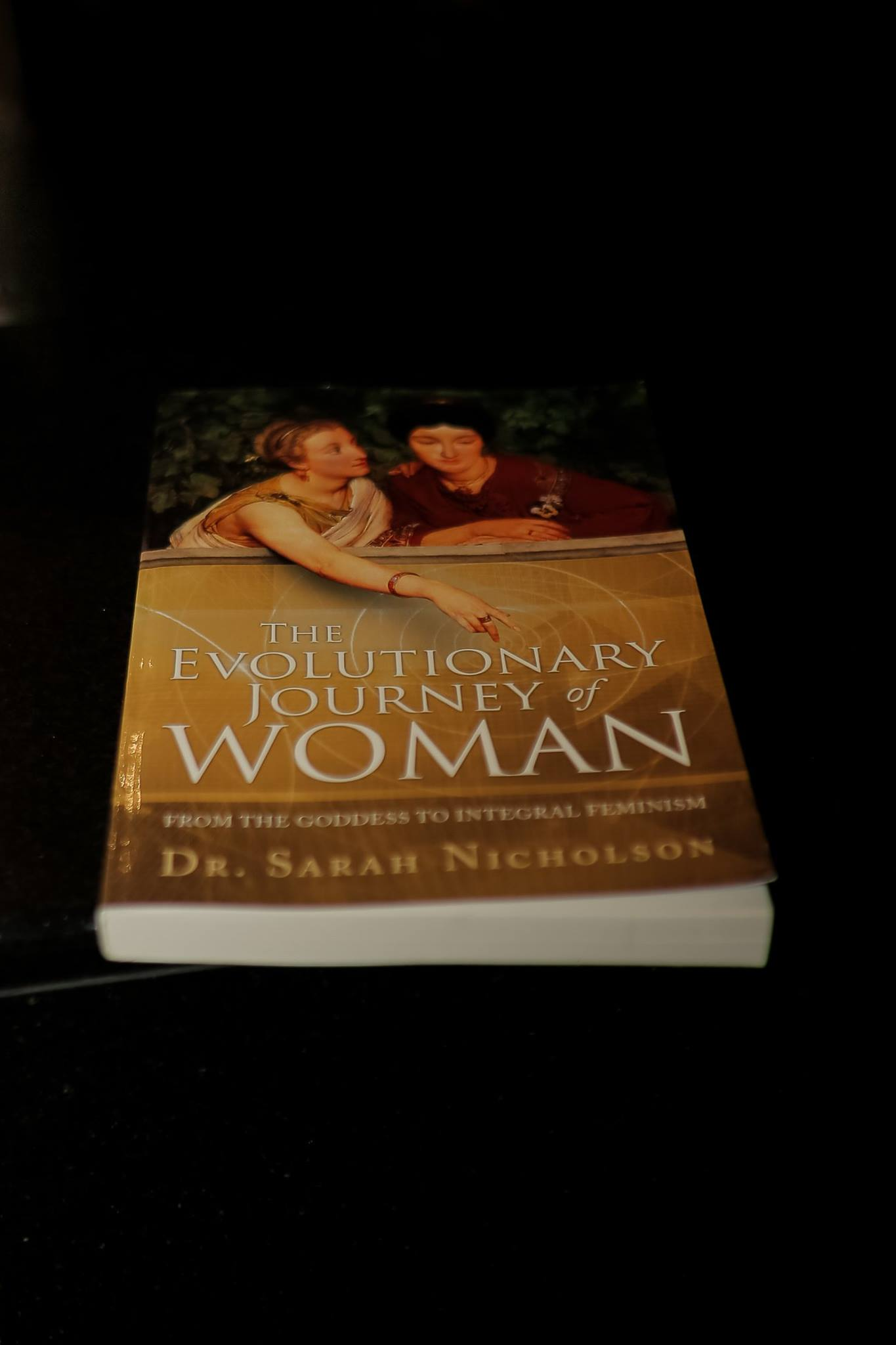 Thank you to creative mama, writer and academic Sass Nicholson who generously donated a copy of her book, The Evolutionary Journey of Woman: From the Goddess to Integral Feminism for our raffle