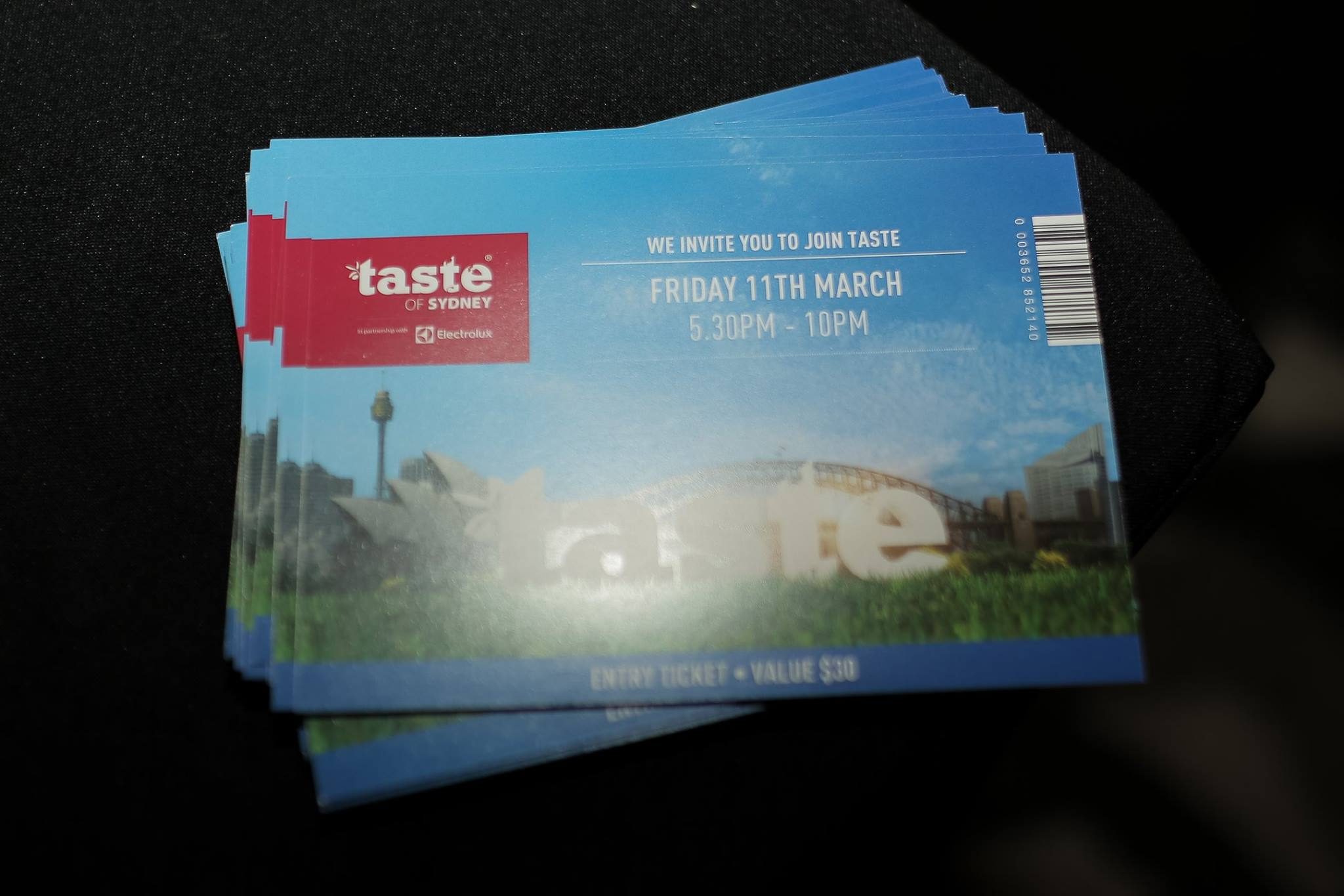 Thank you to TASTE OF SYDNEY who generously donated entry tickets for everyone, to this extraordinary foodie event, happening over this weekend at Centennial Park.