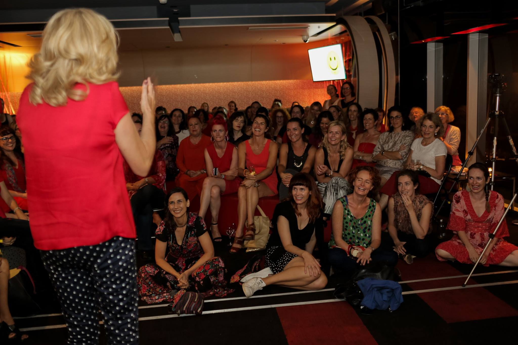 Comedienne and author Jean Kittson had the whole room in fits of hysterics