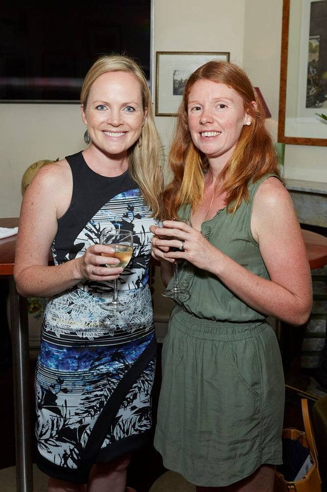 Two lovely creative mamas, Phoebe, founder of Our little foxes with health coach Anna Chisholm