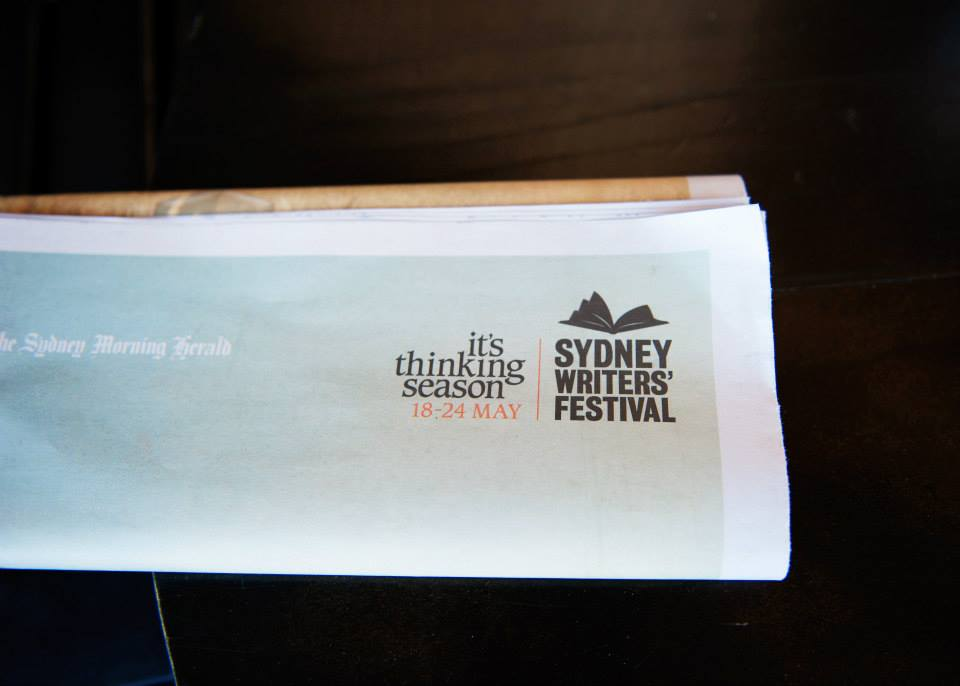 Thanks to our fabulous partner Sydney Writers' Festival, from 18-24 May