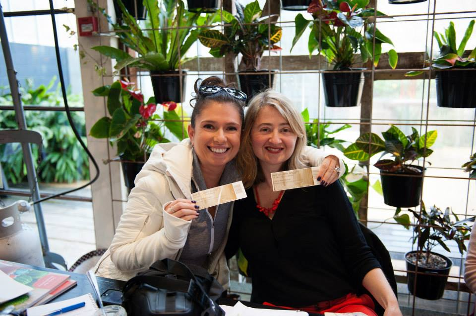 Congrats to Alla, gorgeous creative mama and author of SuperYam and Friends, who won 2 tickets to the Art Gallery of New South Wales