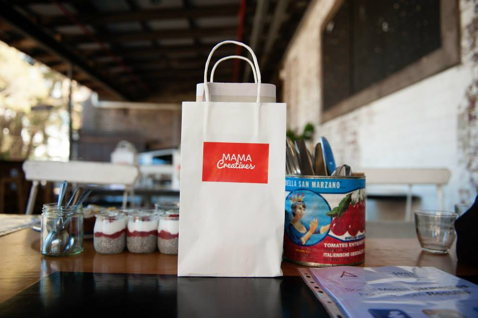 Mama Creatives goodie bag