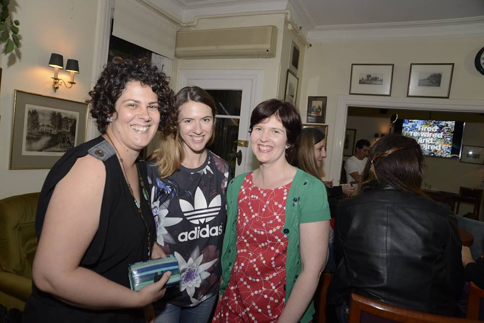 Our featured October Mama Creatives presenter Beth Taylor, with some amazing creative mamas.