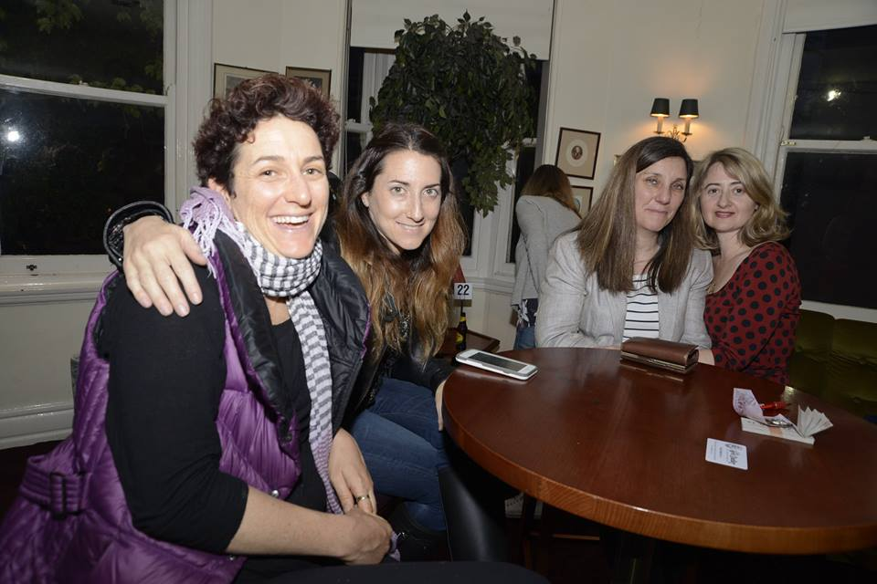 With some of the fabulous creative mamas, at our October evening talk