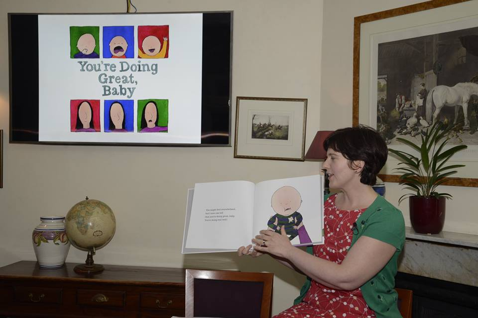 First public reading from the only current copy of You're Doing Great, Baby, the latest book and creative project by our featured October Mama Creatives presenter Beth Taylor