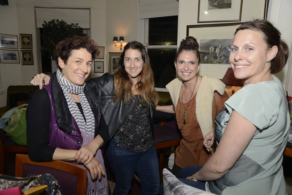 Some of the fabulous creative mamas, at our October evening talk