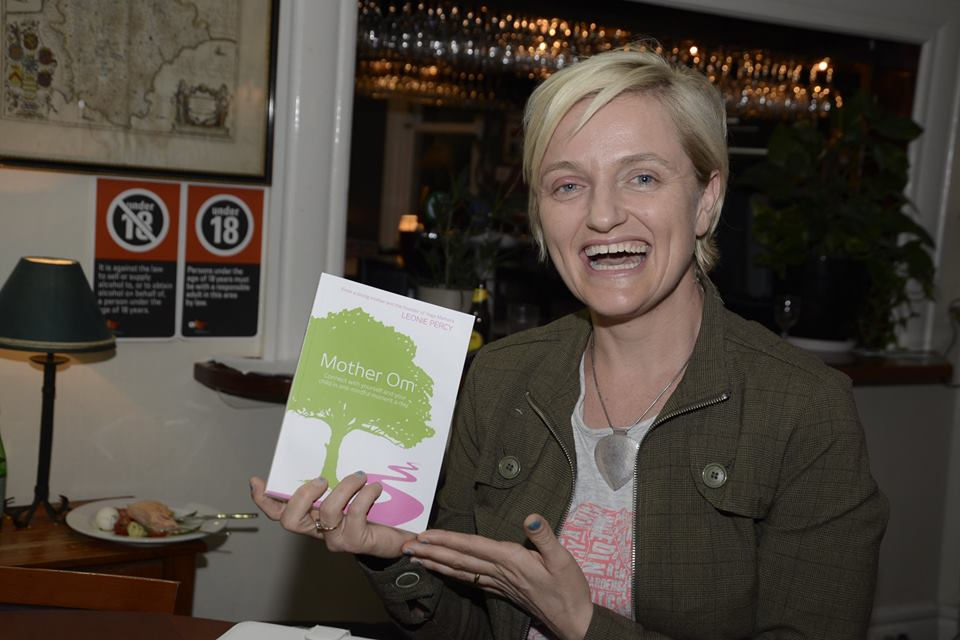 """Congratulations to writer Emma, winner of 'Mother Om' by Leonie Percy, founder of Yoga Mamata - Author of """"Mother Om"""", who kindly donated this book as a raffle prize to help raise funds and awareness for PANDA."""