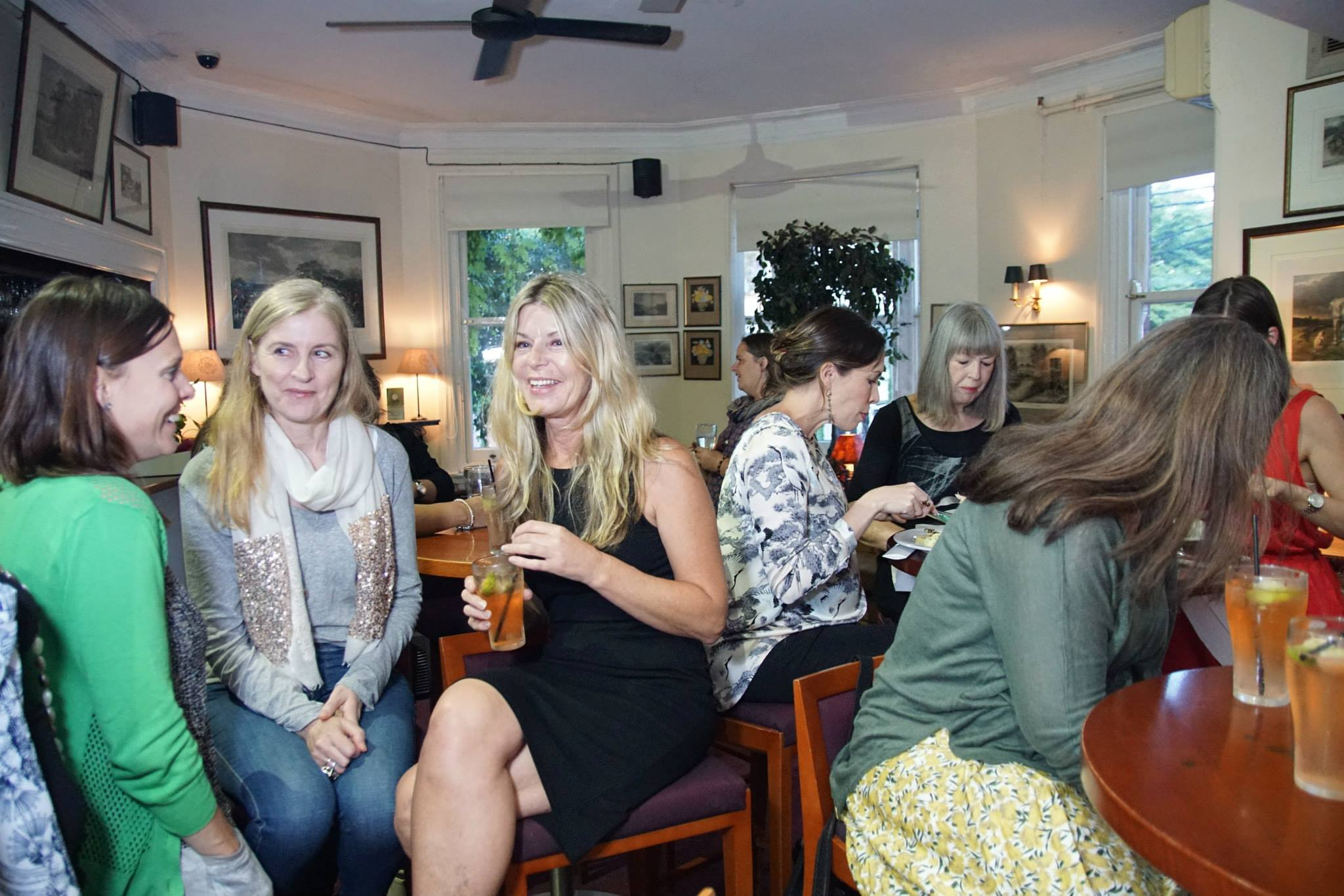Some of the gorgeous creative mamas at our November evening talk