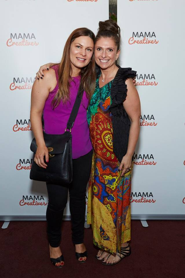 Fabulous and talented mamas, Alla, author and founder of SuperYam and Friends
