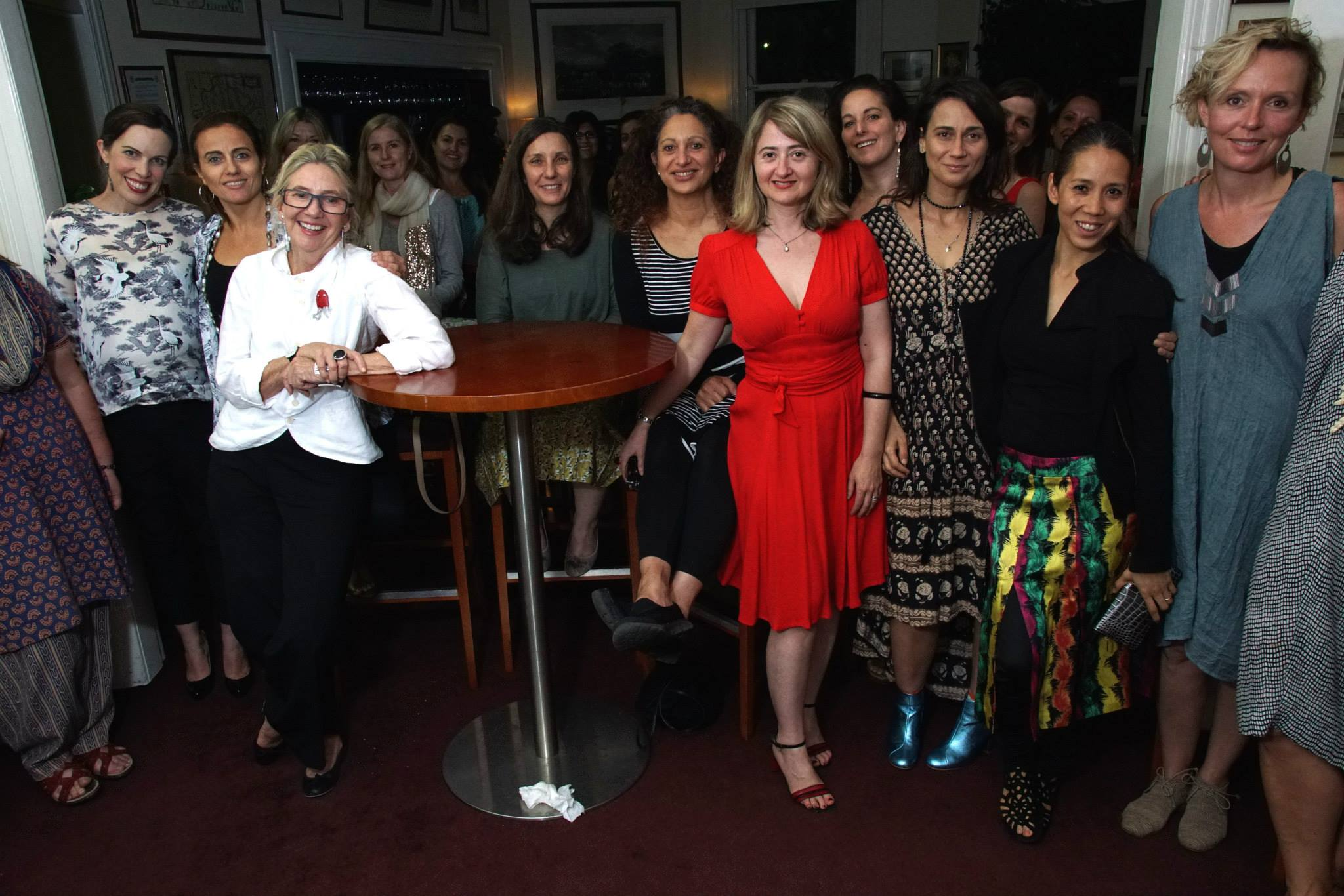 A room full of high calibre and talented creative mamas came out to hear the remarkable Siobhan Costigan, designer, award winning documentary filmmaker and co-founder of People Like Us