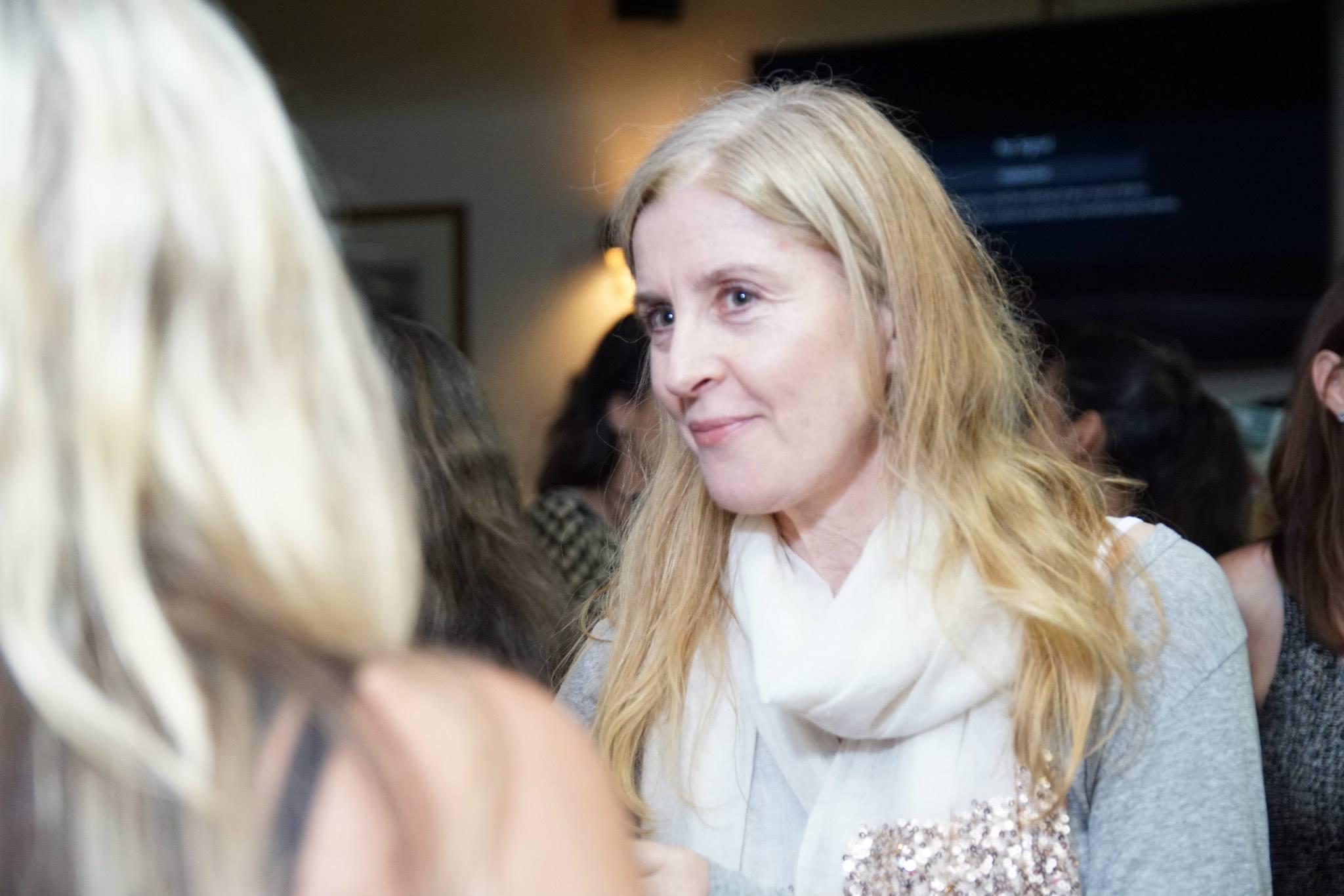 Creative mama at our November evening talk