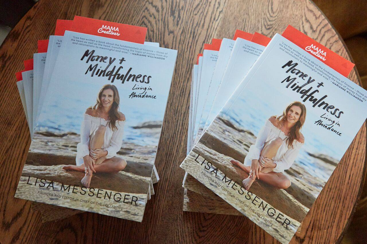 'Money + Mindfulness', the latest book by Lisa Messenger