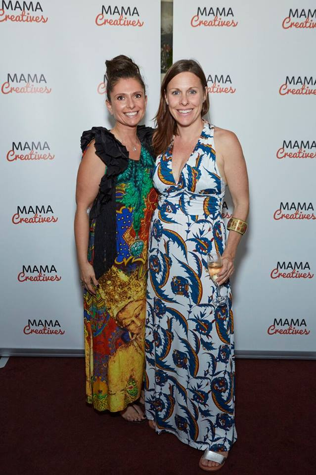 """Dynamic duo, Alla Novochenok Serhan founder of SuperYam and Friends with Leonie Percy, founder of Yoga Mamata - Author of """"Mother Om"""""""