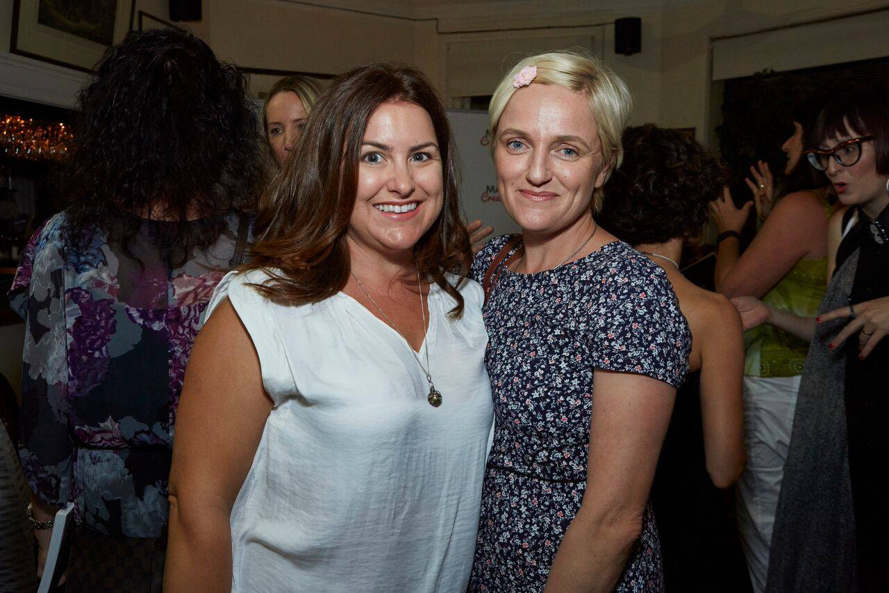 Two amazing creative mamas, Linda founder of BookBoffin with Emma founder of the blog, This True North.