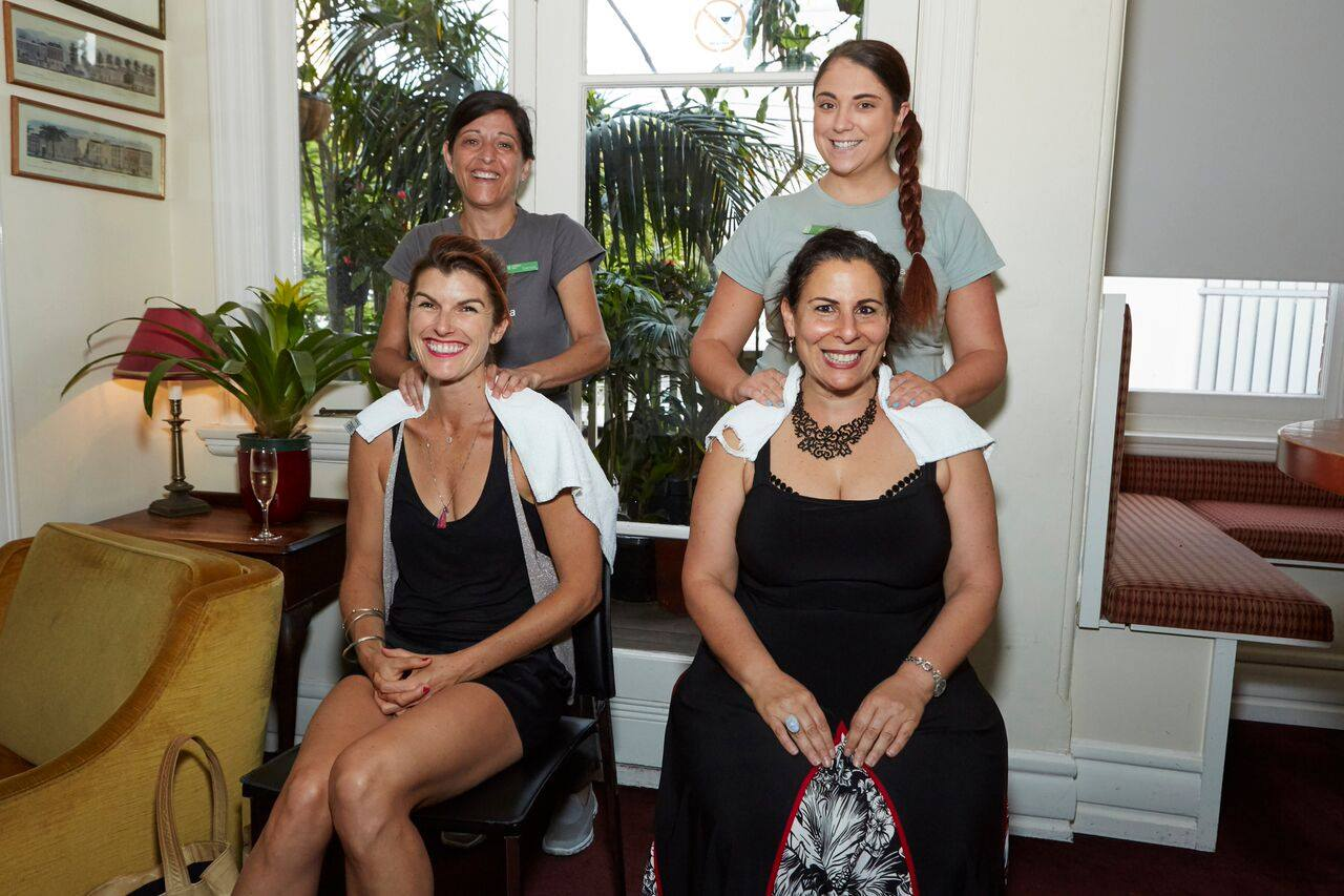 HUGE thank you to the amazing team from endota spa Paddington who gave the mamas massages before the Q&A session