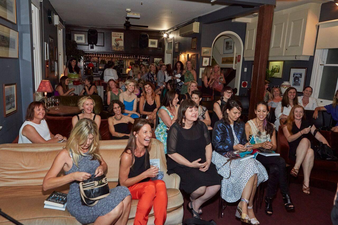 A roomful of incredibly high calibre and talented creative mamas