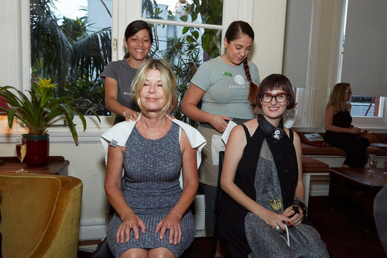HUGE thank you to the amazing team from endota spa Paddington who gave the mamas massages