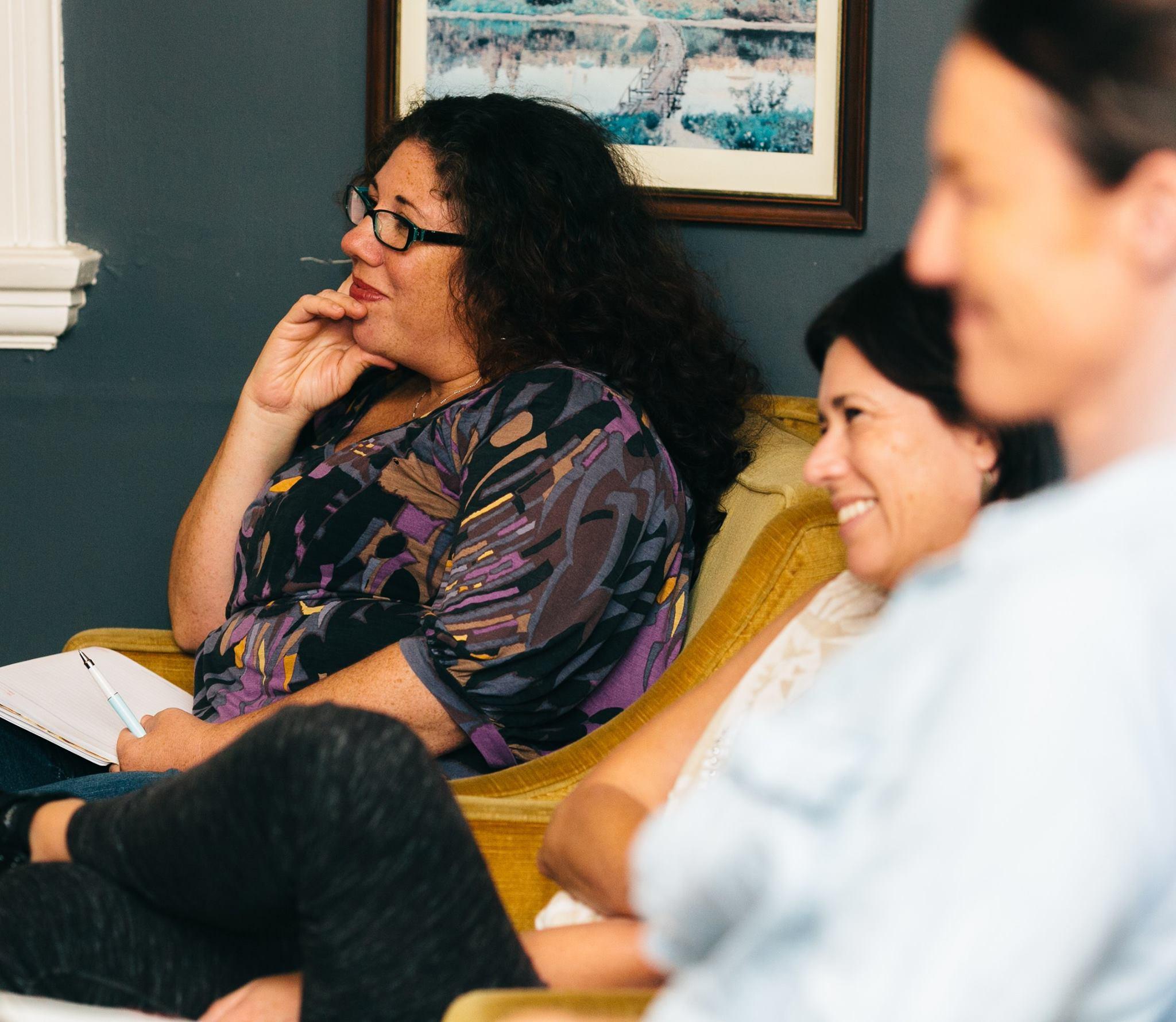 Enjoying the Mama Creatives Funding and Finance Panel