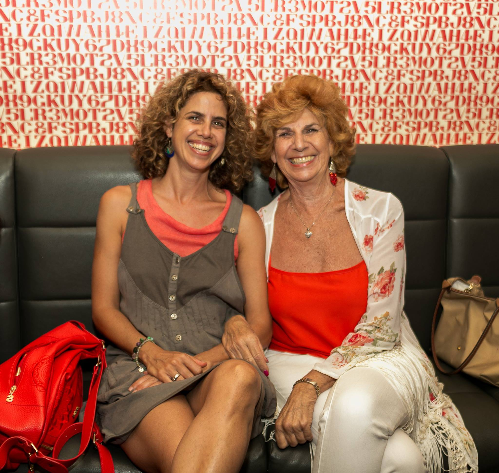 Best photo! Mother and daughter at our first Mama Creatives Red Party