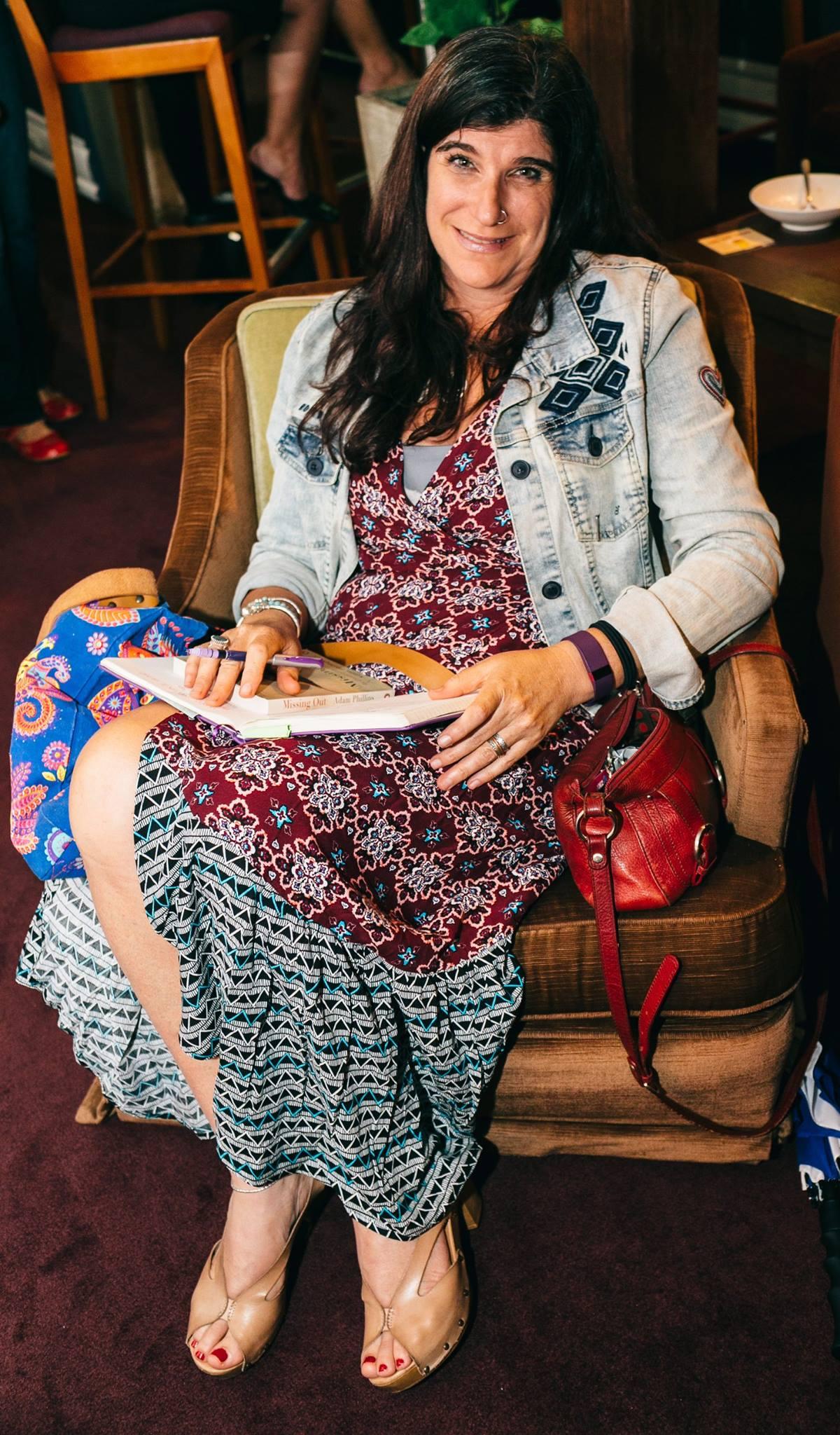 Talented creative mama, author Joanne Fedler