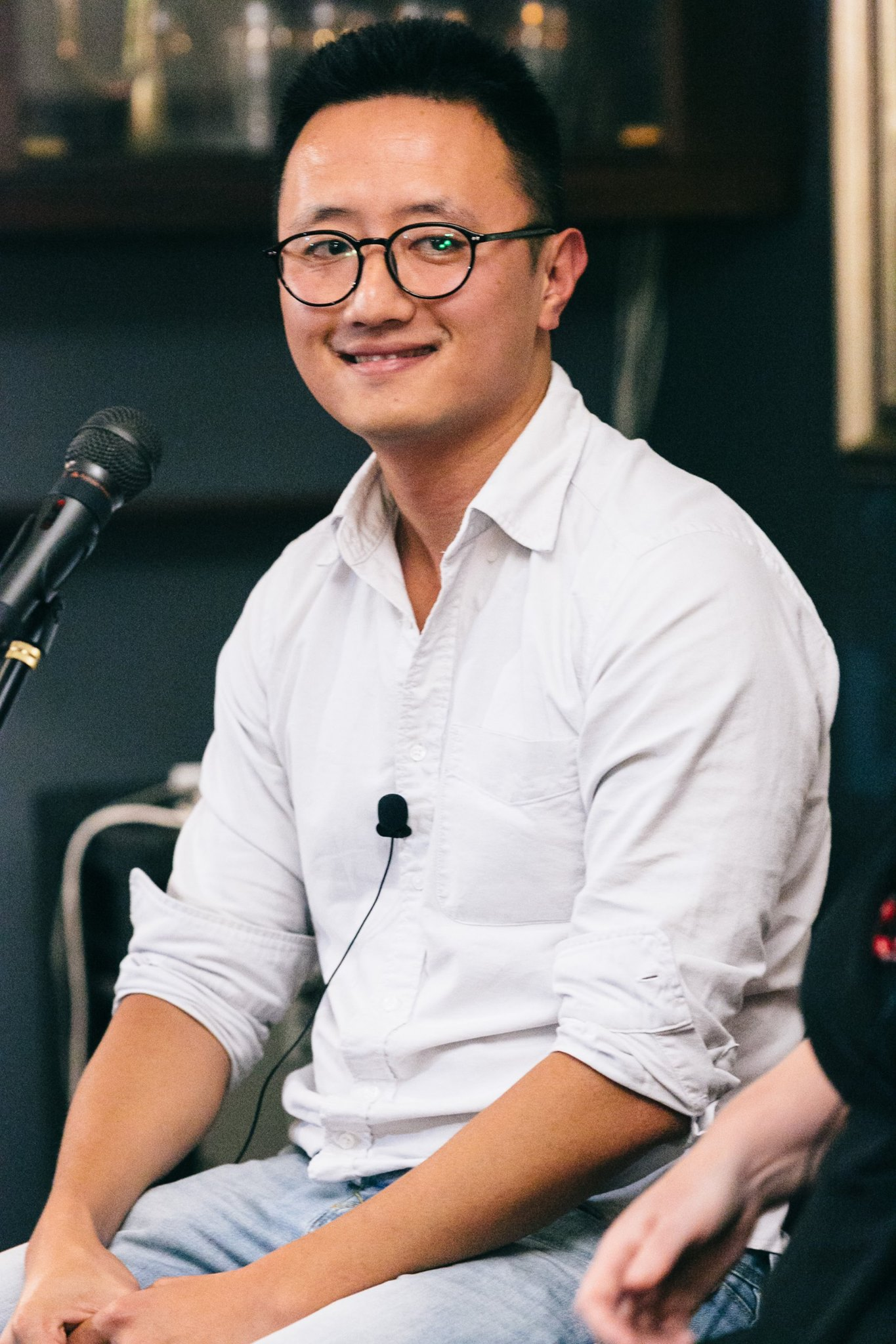 The very accessible, knowledgeable and humorous Rick Chen, co-founder of Pozible