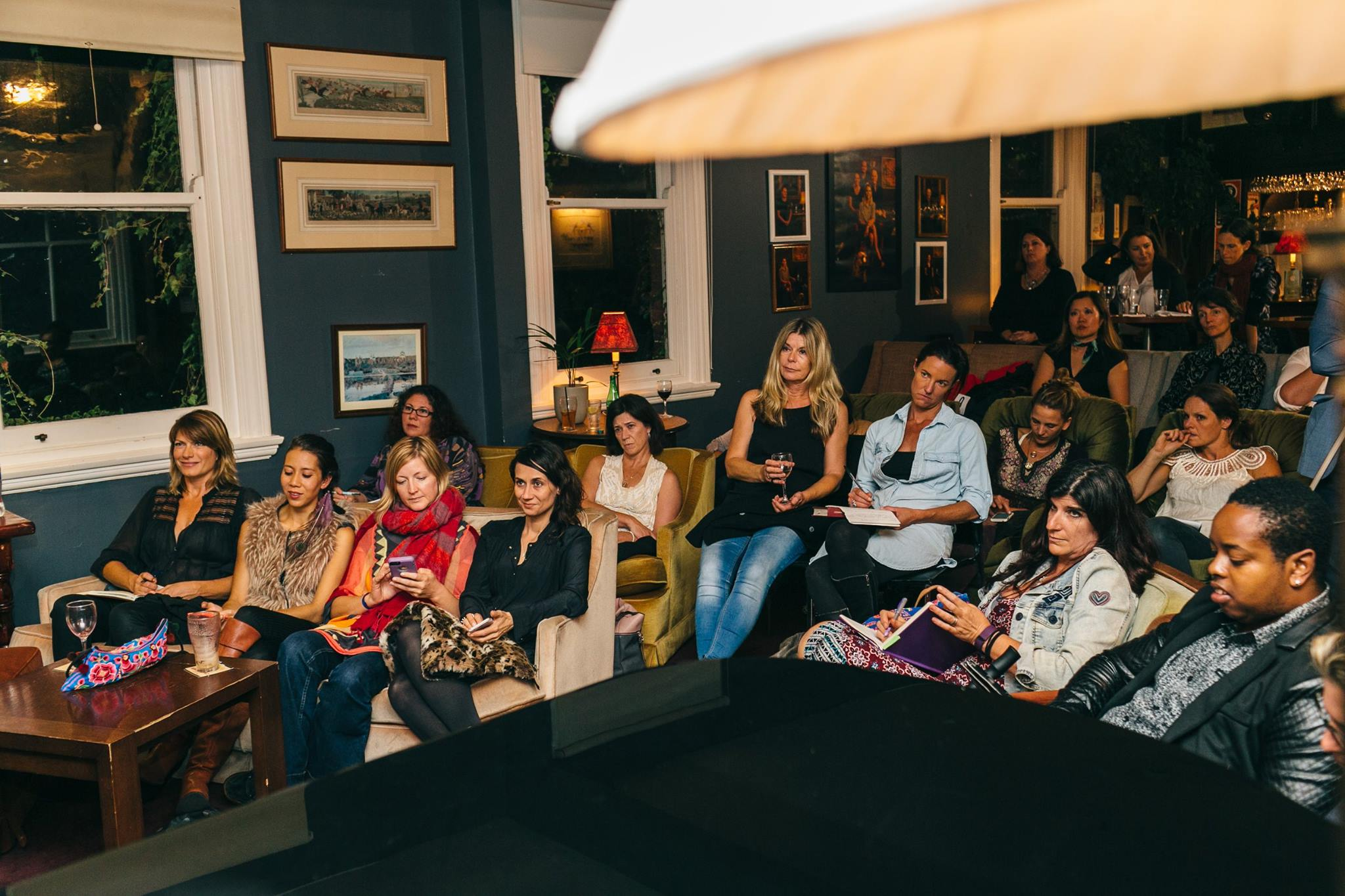 A room full of talented creative mamas