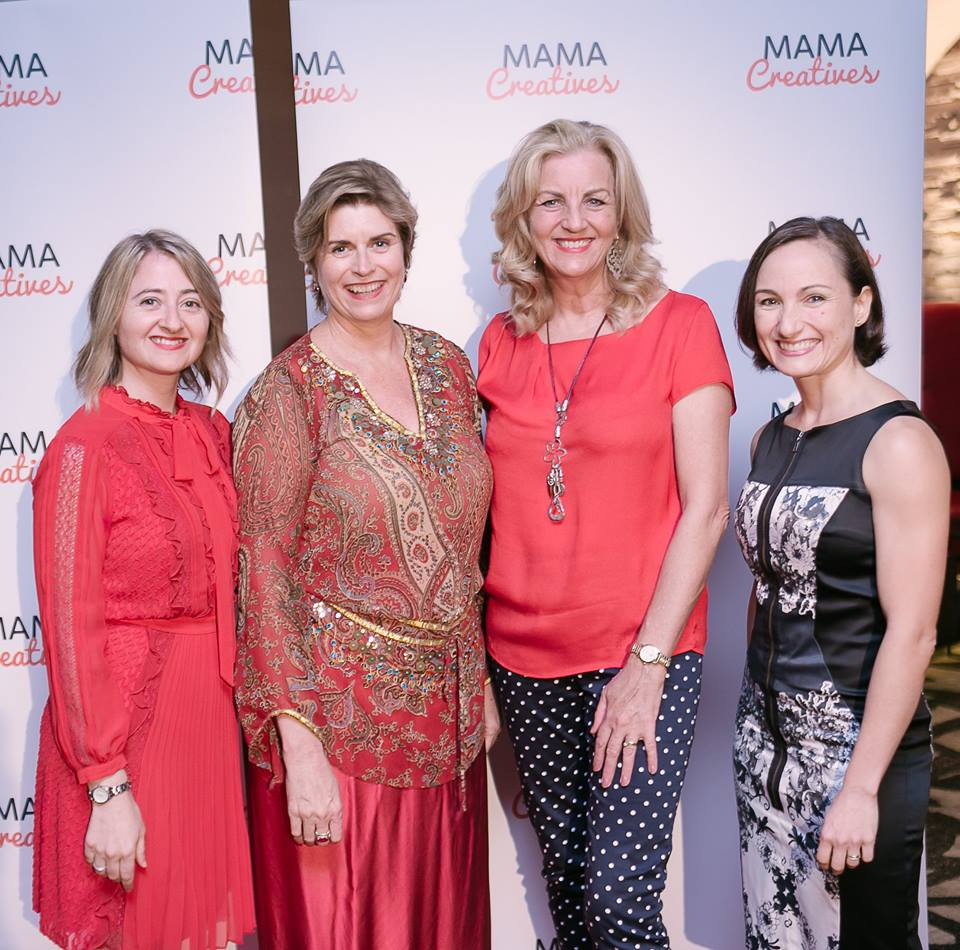 Our first Mama Creatives Red Party to celebrate International Women's Day, featuring three spectacular guest speakers; entertainer and author, Jean Kittson, Maree Lipschitz, founder of The Midlife Midwife, and Dr Alejandra Izurieta, Director at Alana Healthcare for Women
