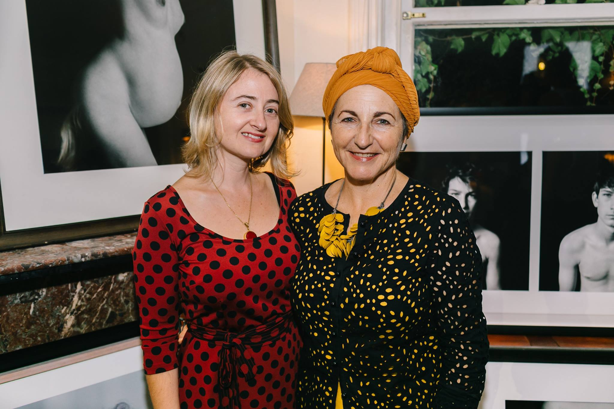 With the formidable Ella Dreyfus, photographic artist, and our April Creative Mama Evening presenter.
