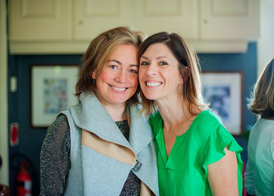 Two fabulous creative mamas