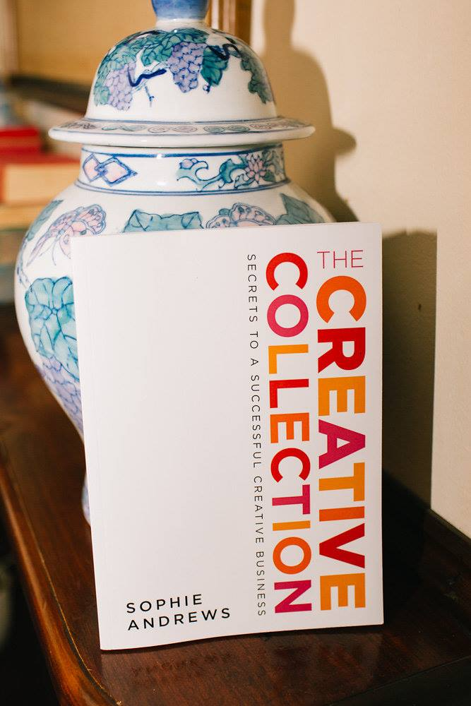 Mama Creatives just celebrated our third birthday so we had some special giveaways, including this fabulous book, 'The Creative Collection: Secrets to a Successful Creative Business' by Sophie Andrews founder of The Accounts Studio