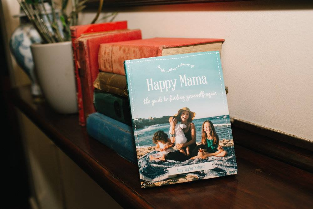 Mama Creatives just celebrated our third birthday so we had some special giveaways, including this fabulous book, 'Happy Mama' by Amy Taylor-Kabbaz.