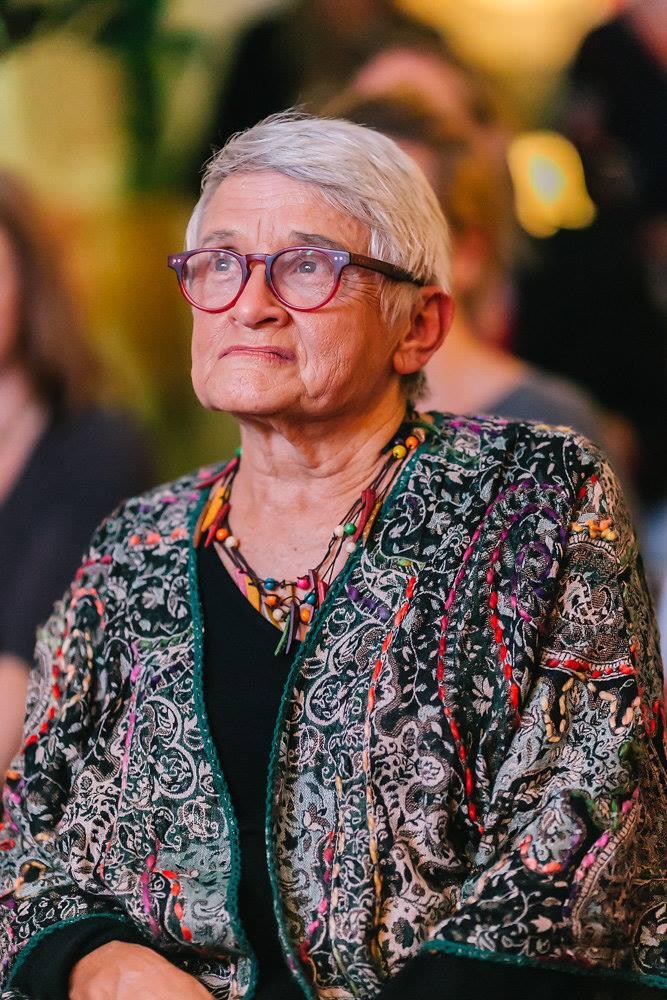 Yolande, the proud creative mother of Jade Oakley