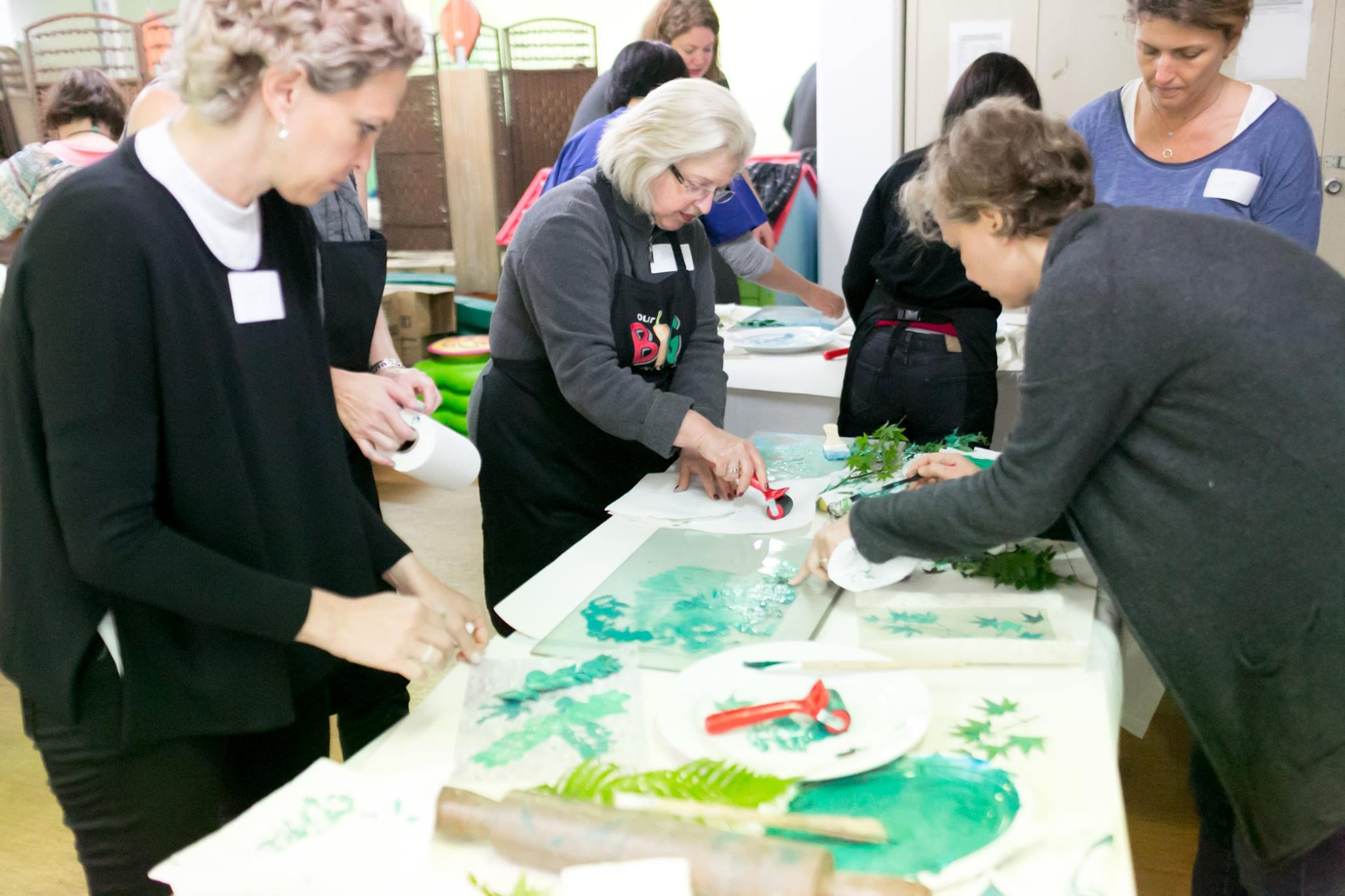 Creative workshop facilitated by artist Louise Trevitt
