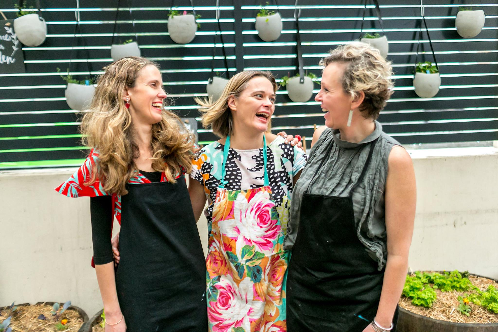 Another BIG thank you to these amazing Mama Creatives legends for their incredible vision and generously offering their time and talent facilitating the creative workshops; painter Yaeli Ohana, Jade Oakley and Louise Trevitt.