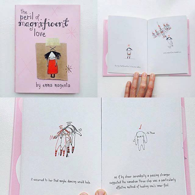 We also gave away a copy of the brilliant book, 'The Peril of Magnificent Love', by talented artist, writer and film maker Emma Magenta who will be presenting a Creative Mama Evening Talk, 'The Uncensored Self', on Tuesday 8 November.