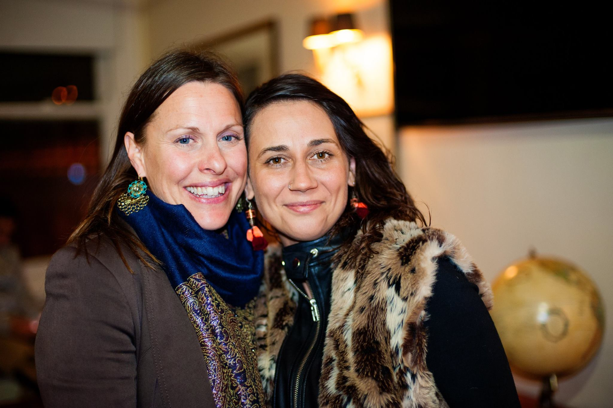 """Mama Creatives core mamas, Leonie Percy, founder of Yoga Mamata - Author of """"Mother Om"""" with film maker Dominika Ferenz"""