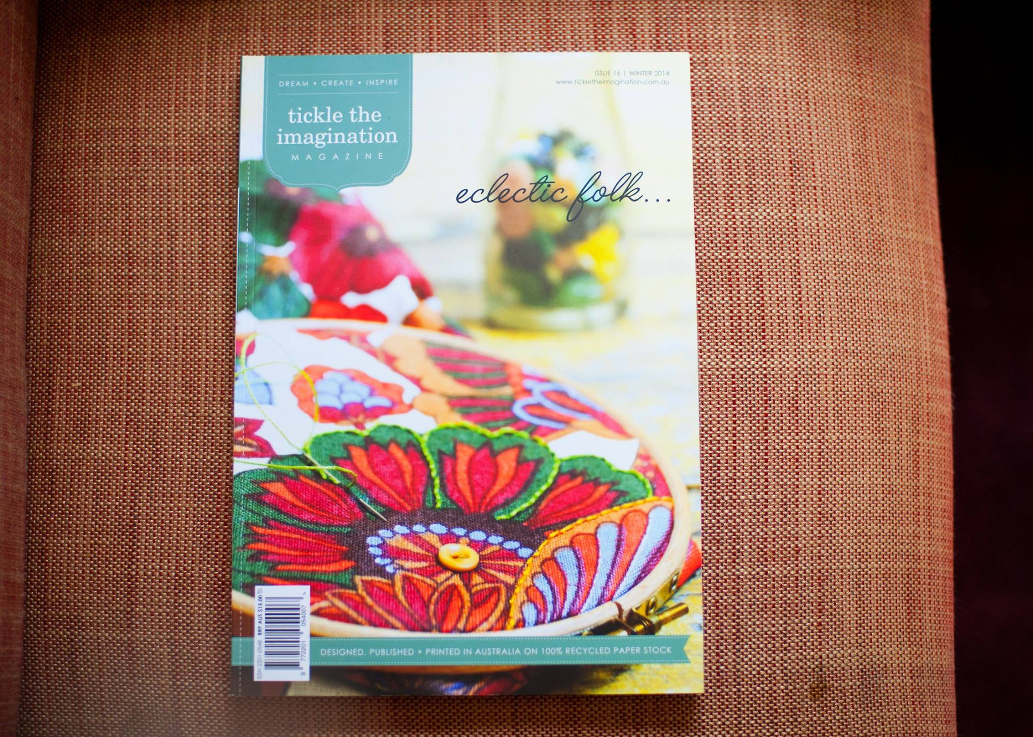 Thank you to our Morning Tea Masterclass partners 'tickle the imagination', every mama received a copy of this fabulous publication, at our Mama Creatives Masterclass #5: 'Harnessing your Sexuality to Boost Creativity'