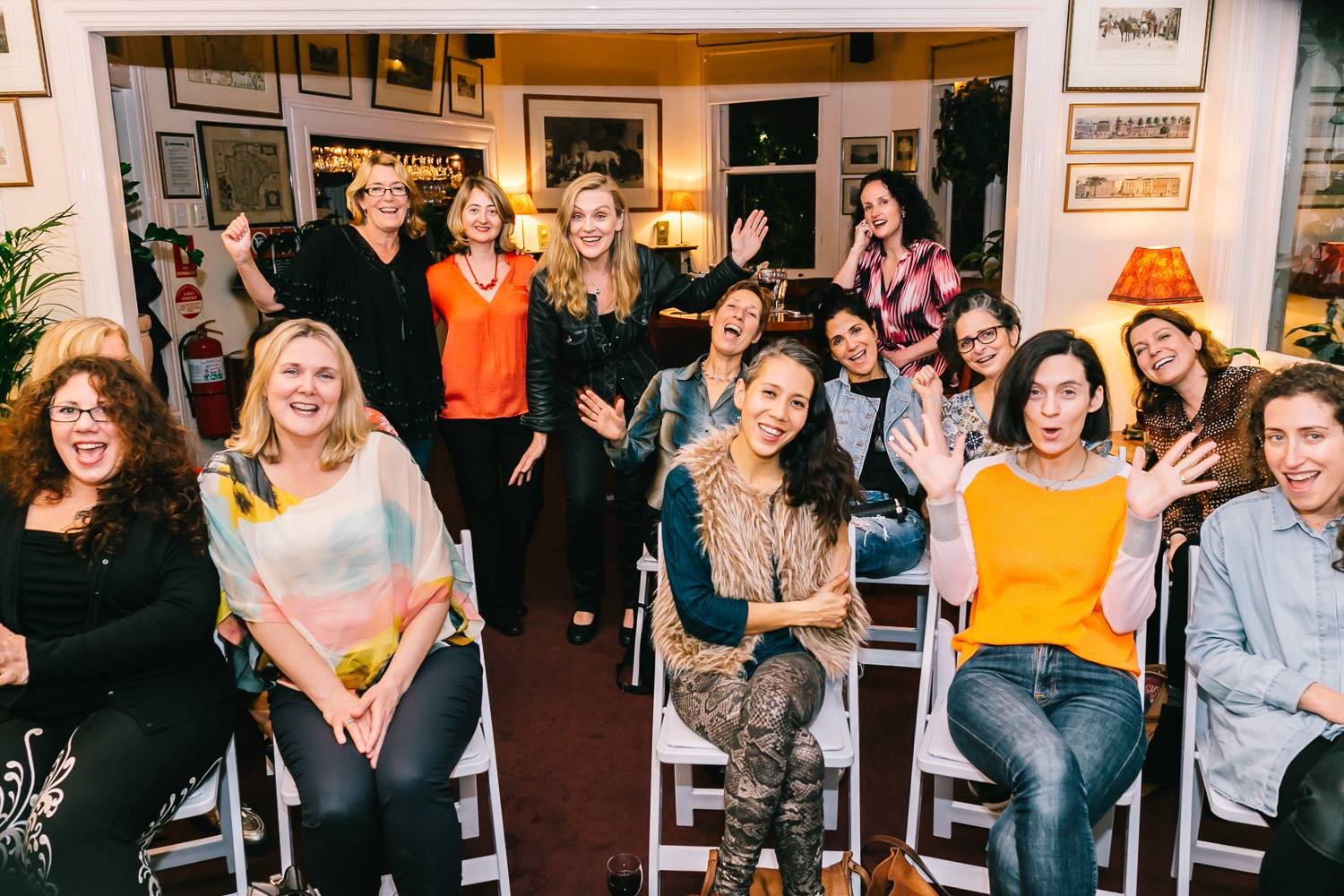 Some of the creative mama crowd who joined us for our Mama Creatives evening talk