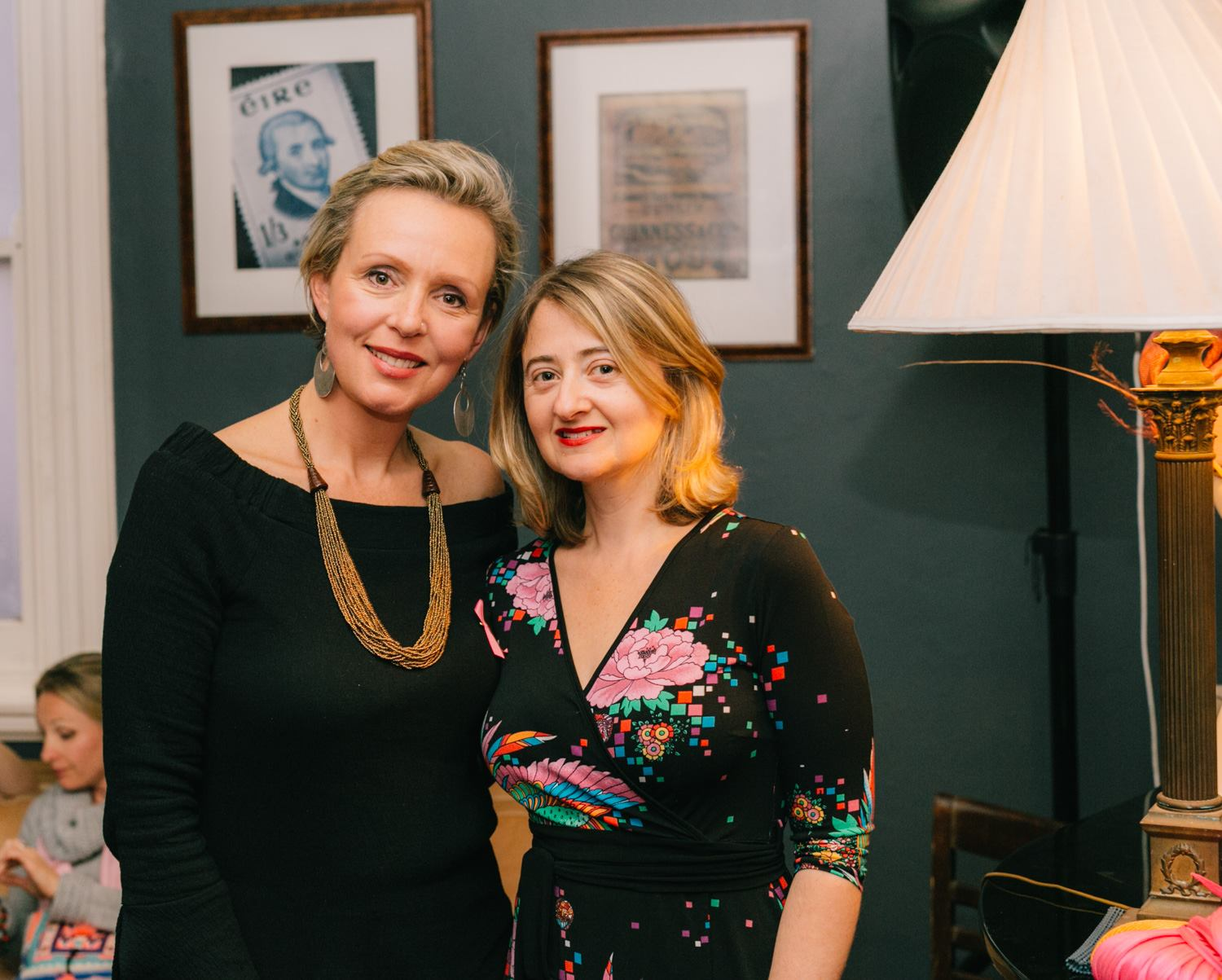 With the truly remarkable Louise Trevitt, our featured creative mama presenter who shared her heartfelt story about surviving breast cancer and how through the creative process was able to heal and become a stronger version of herself.