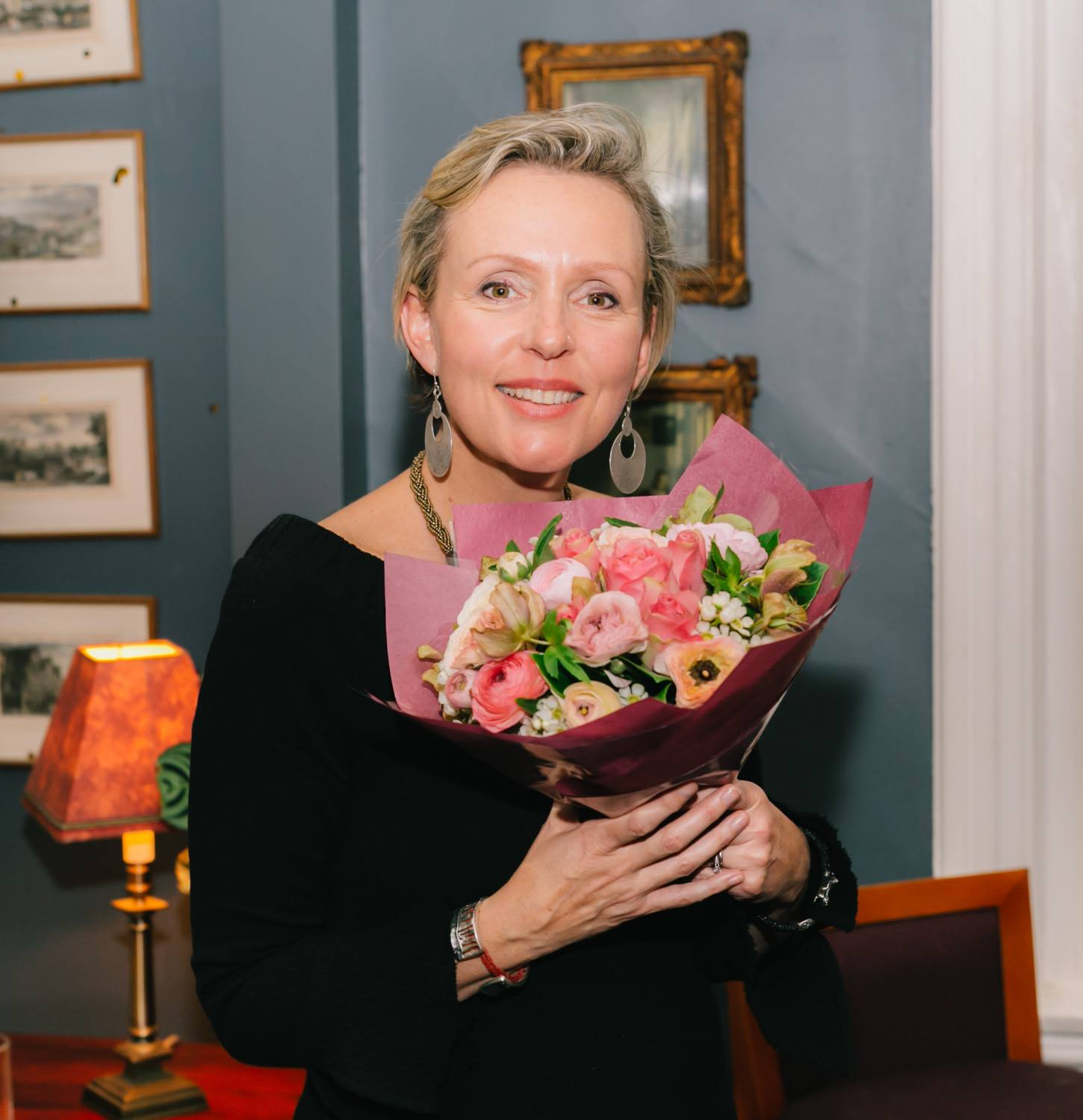 Thank you Louise Trevitt for sharing your personal story and remarkable body of creative work. Bravo! Lovely flowers from Tulipanna Florist