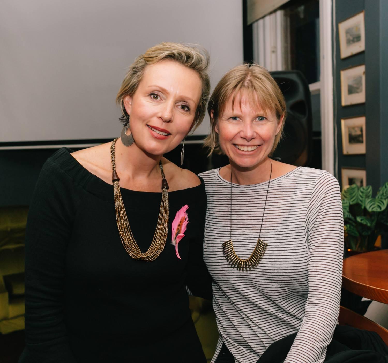 Featured presenter Louise Trevitt at our Mama Creatives Evening Talk, 'Creativity & the Art of Healing'.