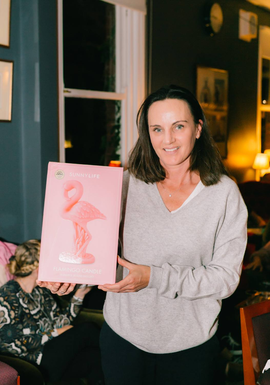 Congratulations to our winner of the fabulous pink flamingo candle, one of the prizes for our 'In the Pink' raffle, courtesy of the genrous folks at abode. We raised $200 to support Breast Cancer Network Australia