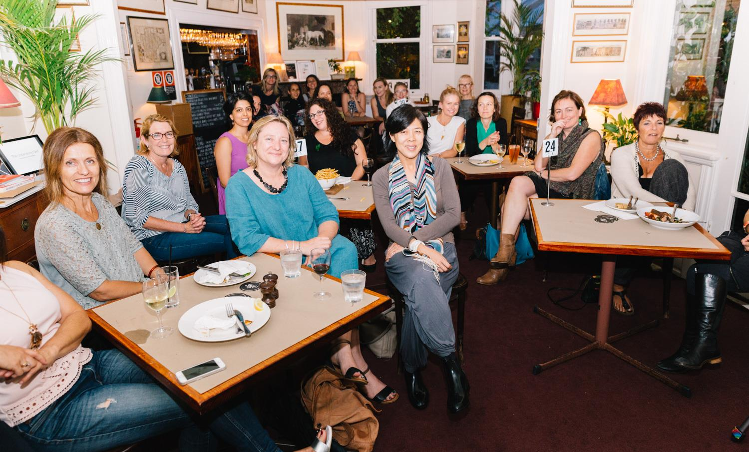 Some of the incredibly talented and fabulous creative mamas who came to listen to the wonderful Emma Magenta