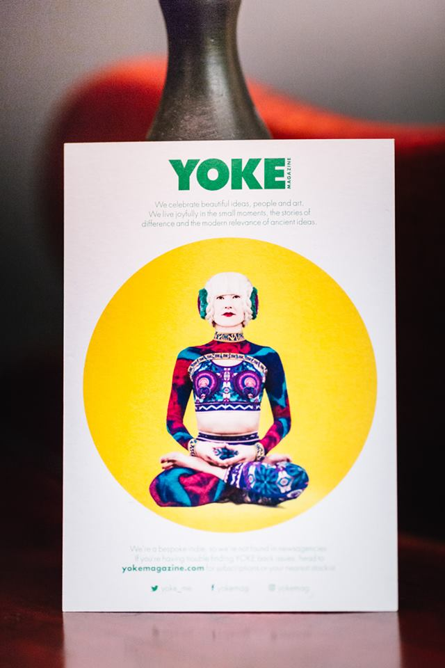 Big thank you to the fabulously creative and thoughtful YOKE magazine for supporting our evening event
