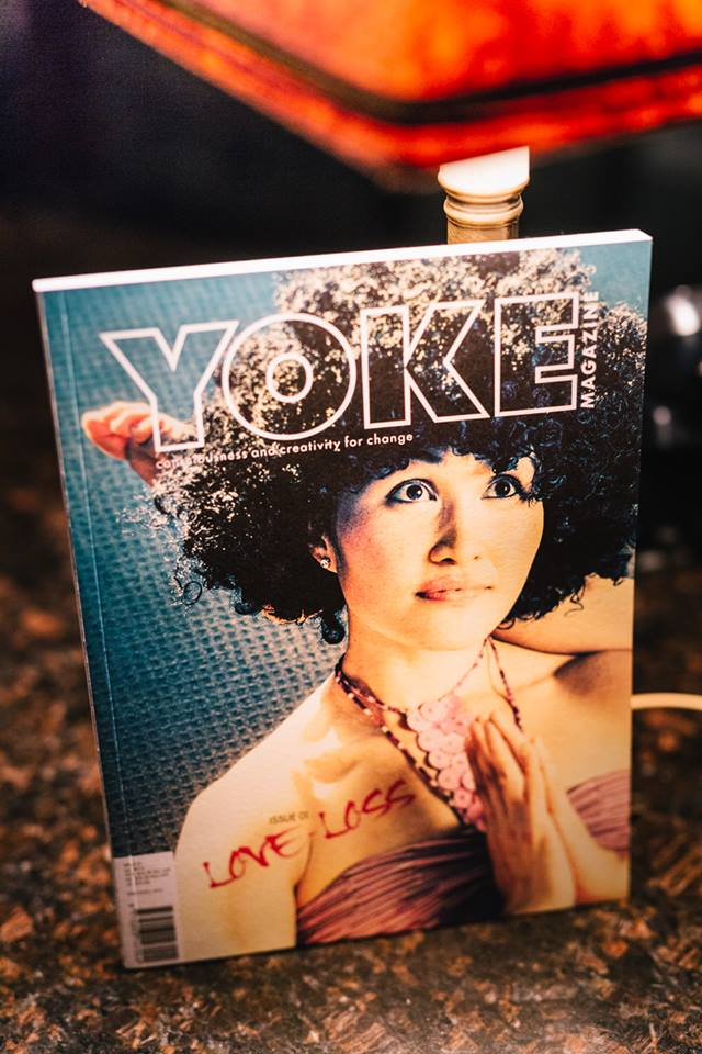 Big thank you to the fabulously creative and thoughtful YOKE magazine for supporting our evening event, 'The Uncensored Self' featuring Emma Magenta