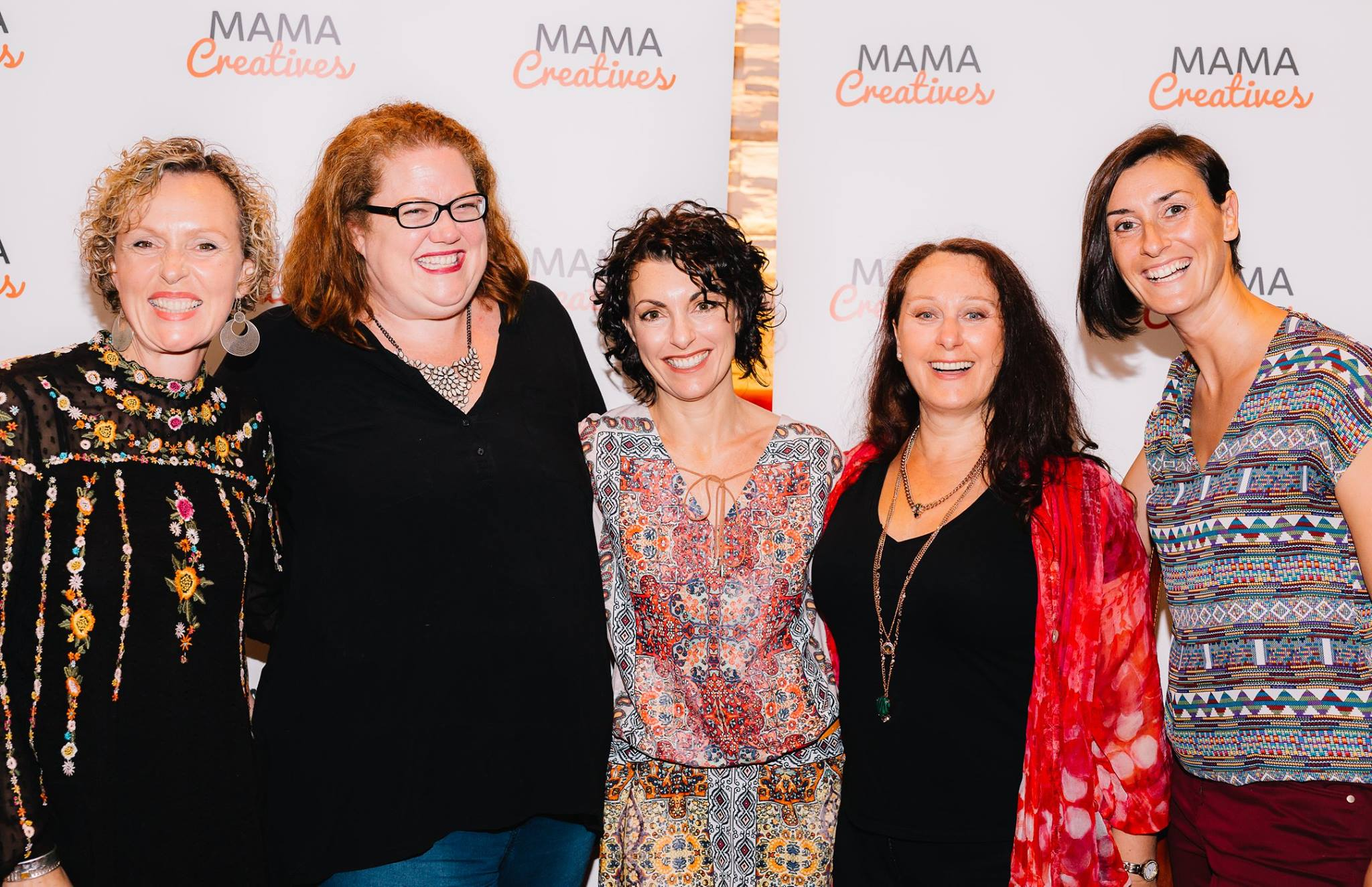 With Louise Trevitt, Bron Maxabella, Kerri Sackville, Justine Armstrong and Maeve Belshaw.