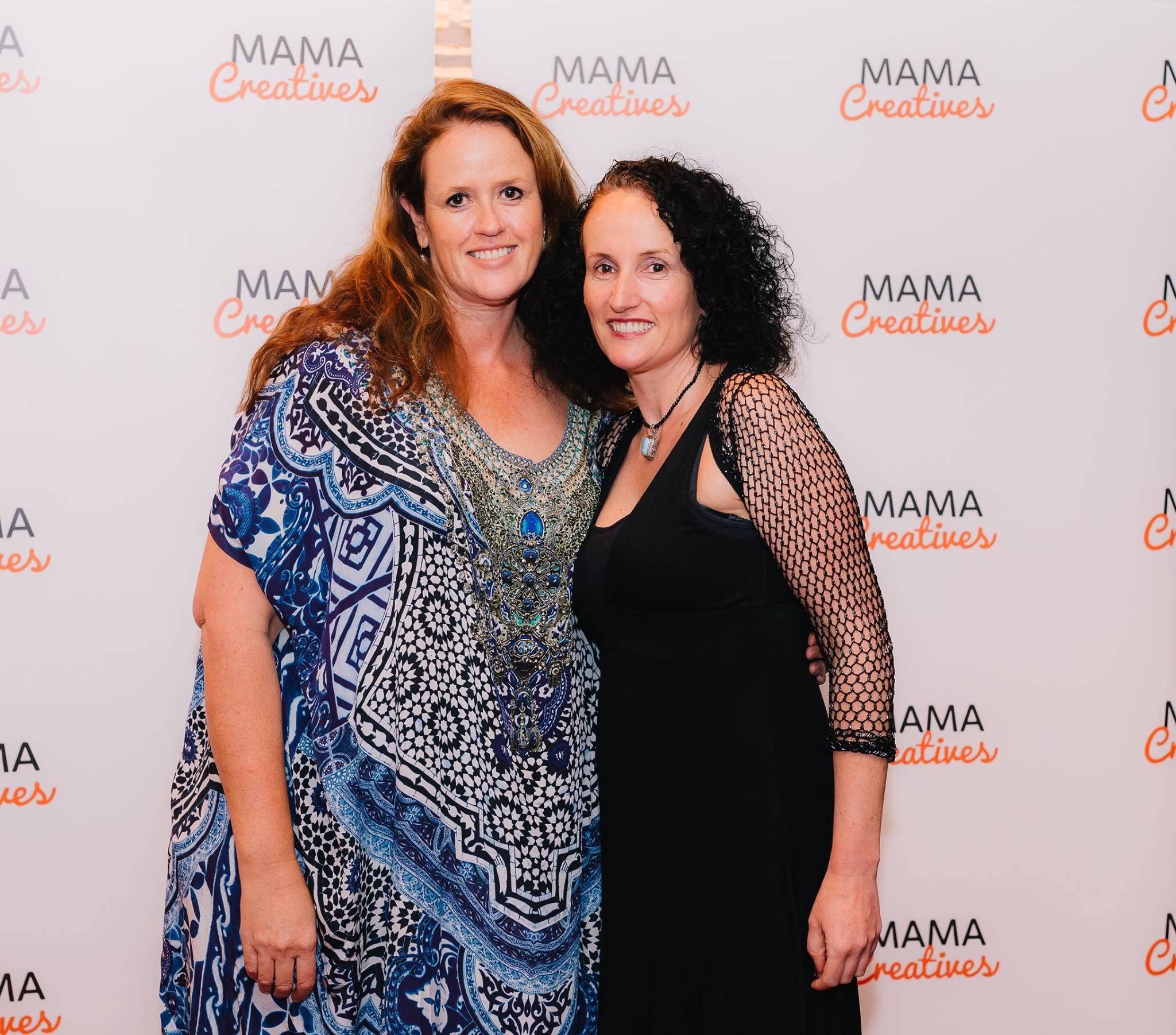 Two extraordinary creative mamas and sisters with Sarah Gardan.