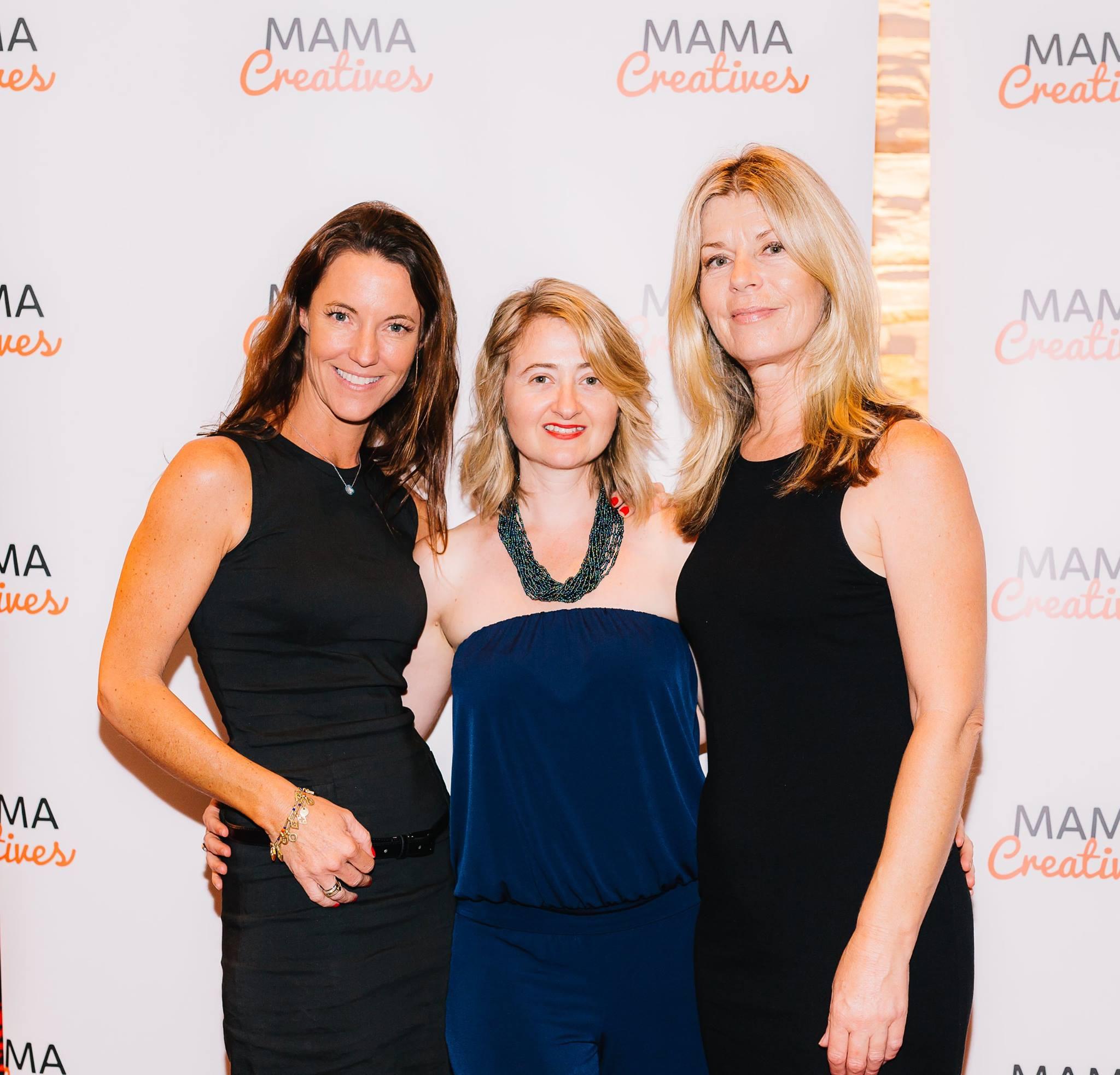 With two very special creative mamas, Anna Kellerman and Sharon de Souza.