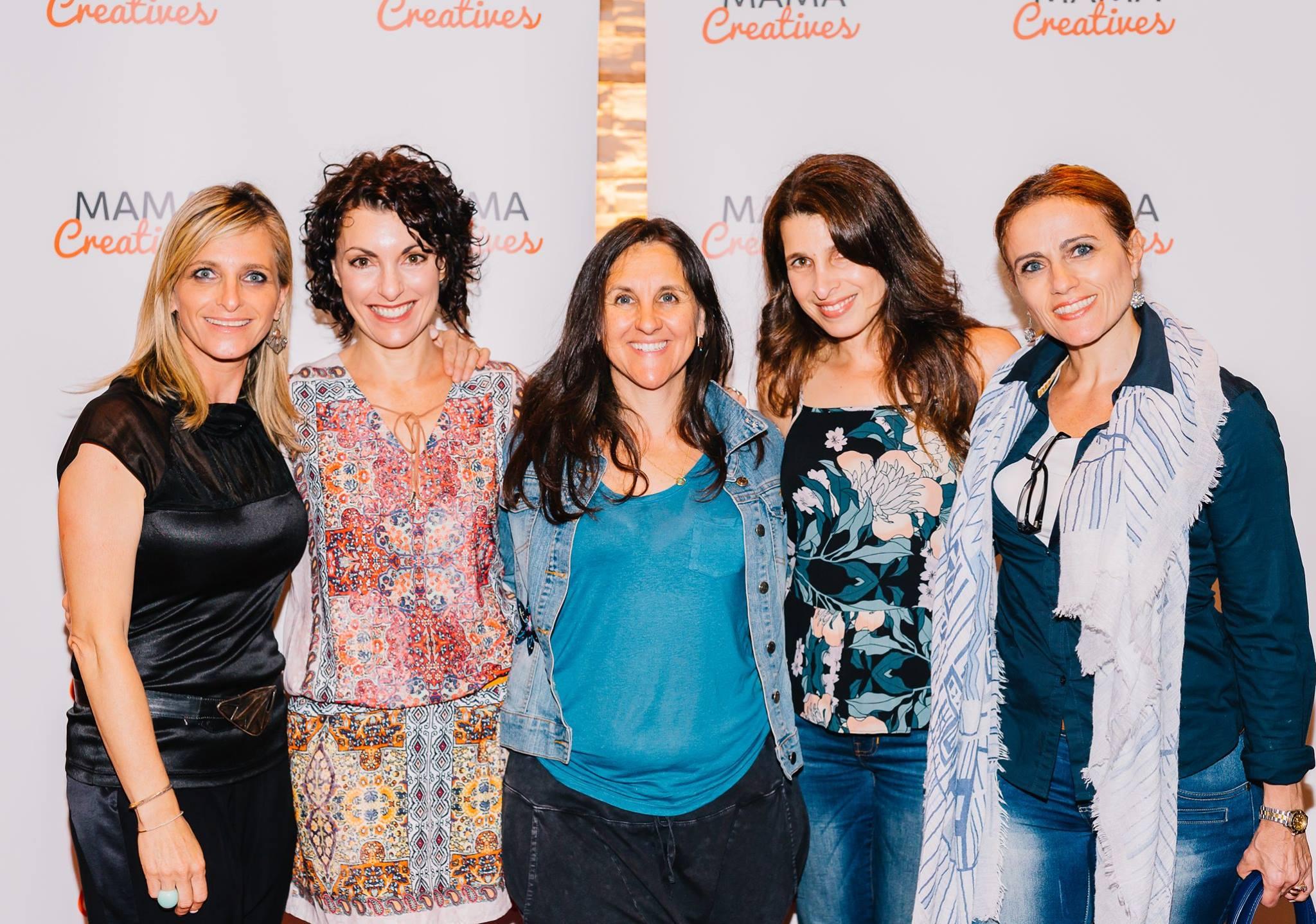 With Deb Meyer, Kerri Sackville, Tracey Fittinghoff Hayim and Ralene Reuveny.